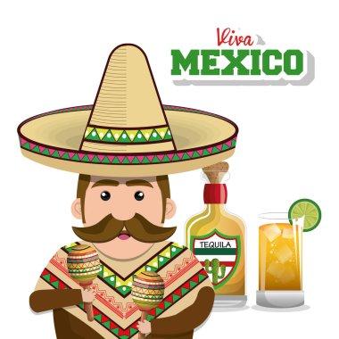 viva mexico poster icon