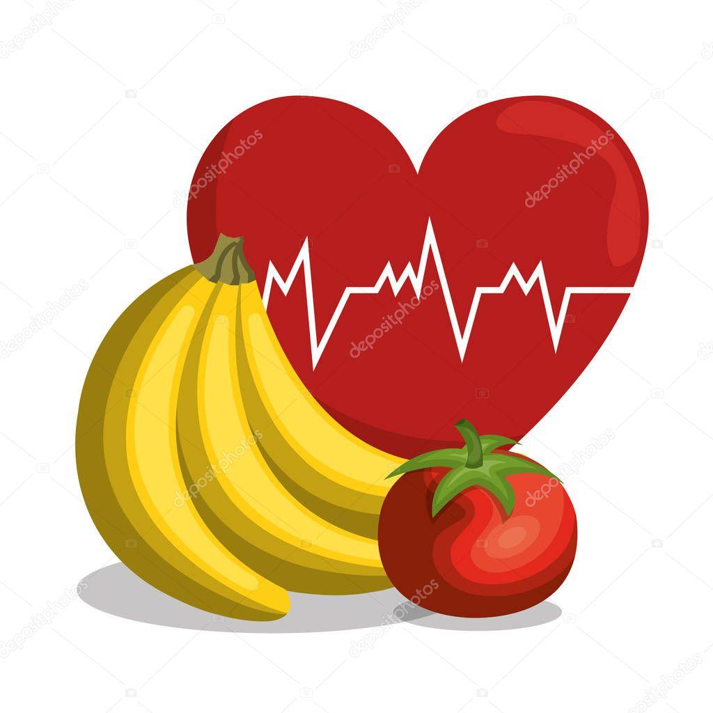 nutrition healthy food icon