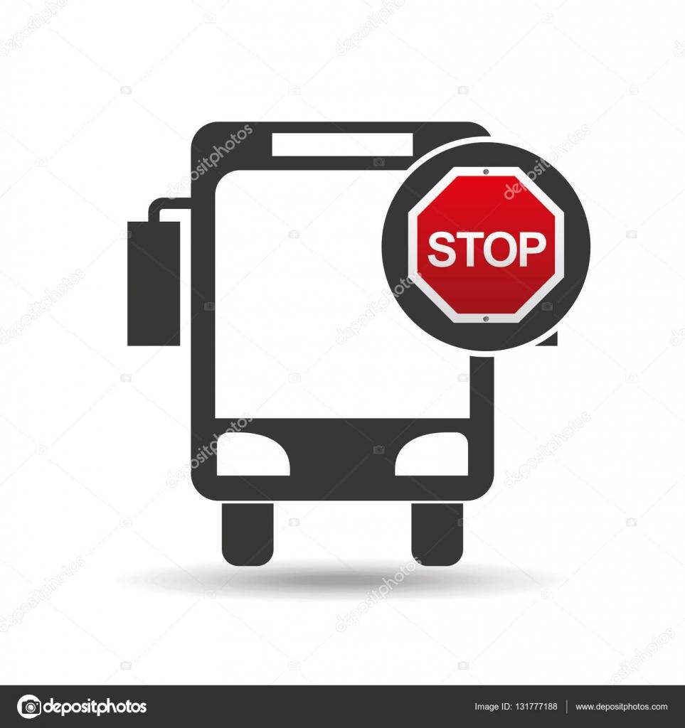 conception de panneau de signalisation ville arr t de bus image vectorielle yupiramos 131777188. Black Bedroom Furniture Sets. Home Design Ideas