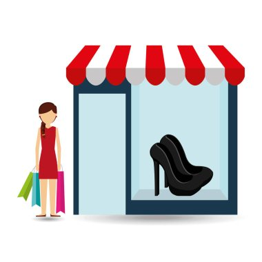 shoes woman buys gifts