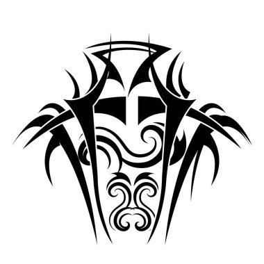 tribal ethnic tatto icon