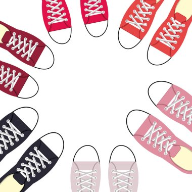 young people fashion shoes