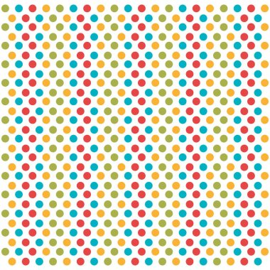 dotted colors background icon
