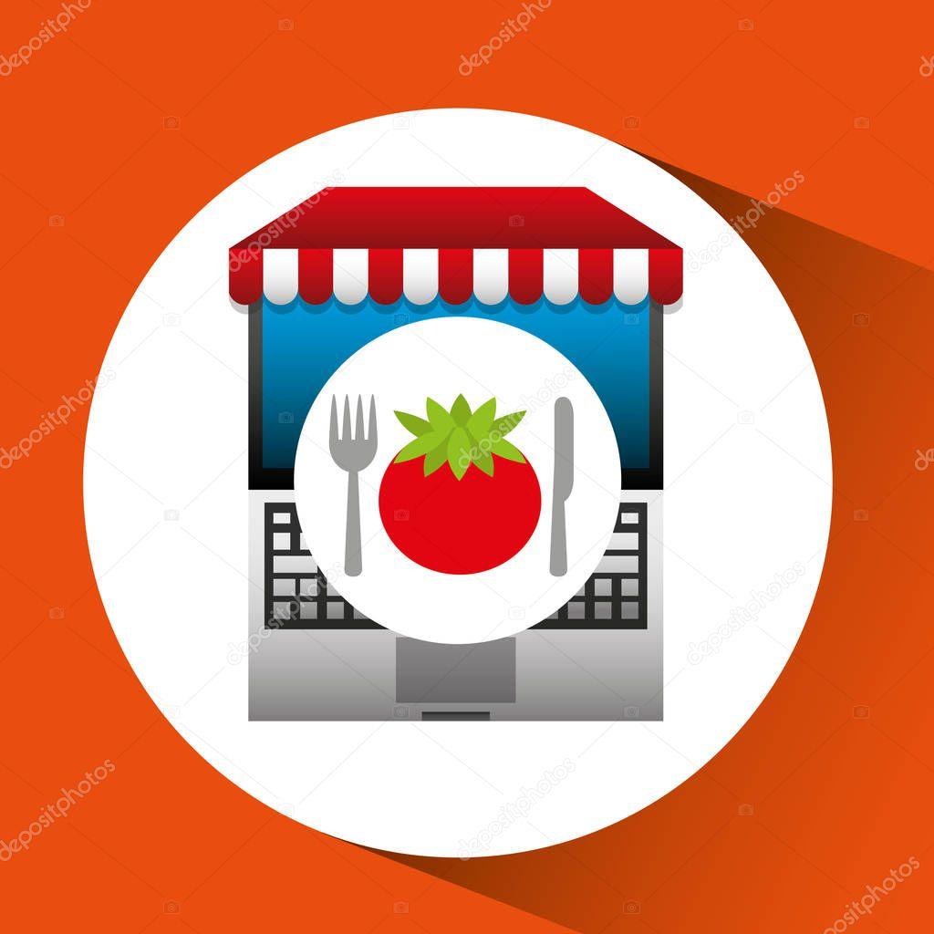 tomato online shopping app
