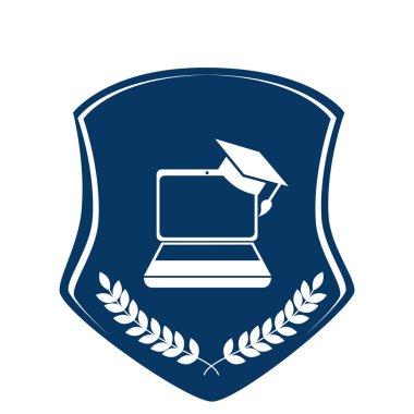 school emblem frame icon