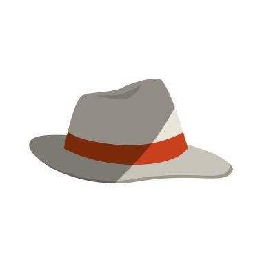 beach hat panama icon