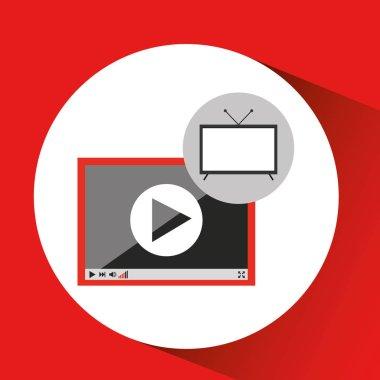 screen tv movie video player