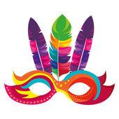 Fotografie Masken-Karneval-Ikone