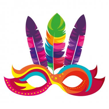 mask carnival celebration icon