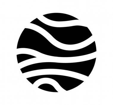 venus planet isolated icon