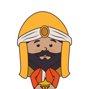 wise man manger character