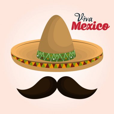mexican classic sombrero icon