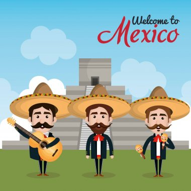 viva mexico poster celebration