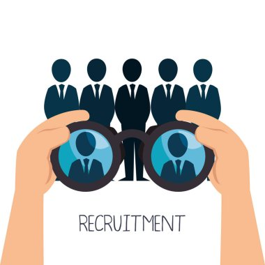 recruitment human resources icon