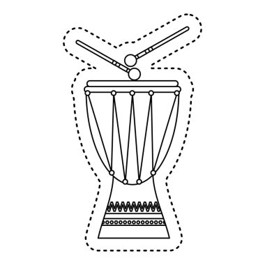 timbal tropical instrument icon