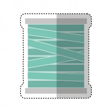 Thread roll isolated icon