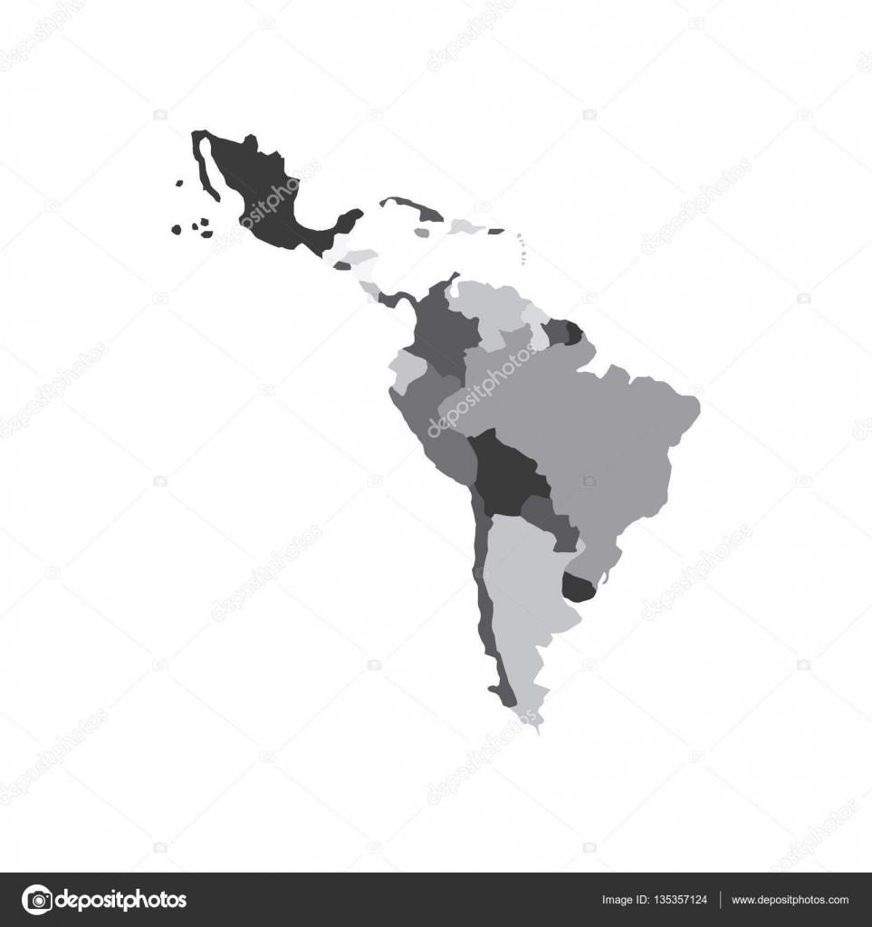 Latin america map stock vector yupiramos 135357124 latin america map icon over white background vector illustration vector by yupiramos sciox Choice Image