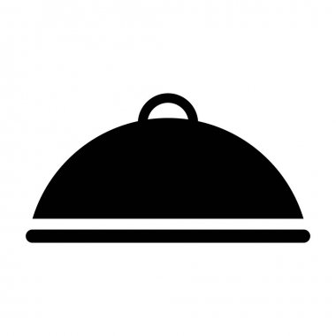 tray server isolated icon