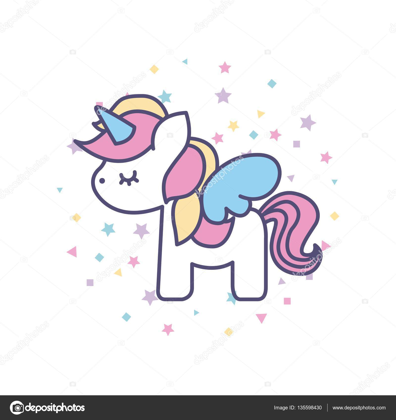 unicorn stock vectors royalty free unicorn illustrations