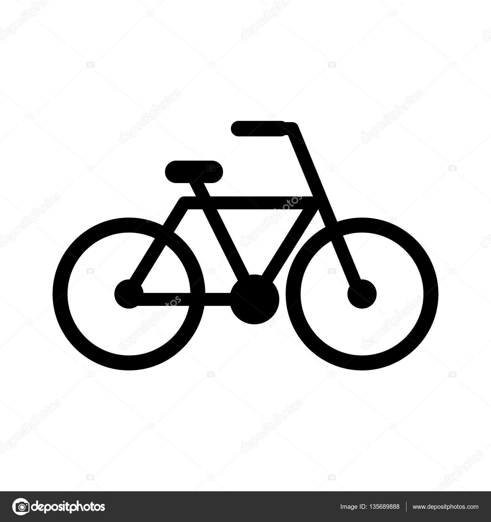 Icona Isolata Disegno Di Biciclette Vettoriali Stock Yupiramos