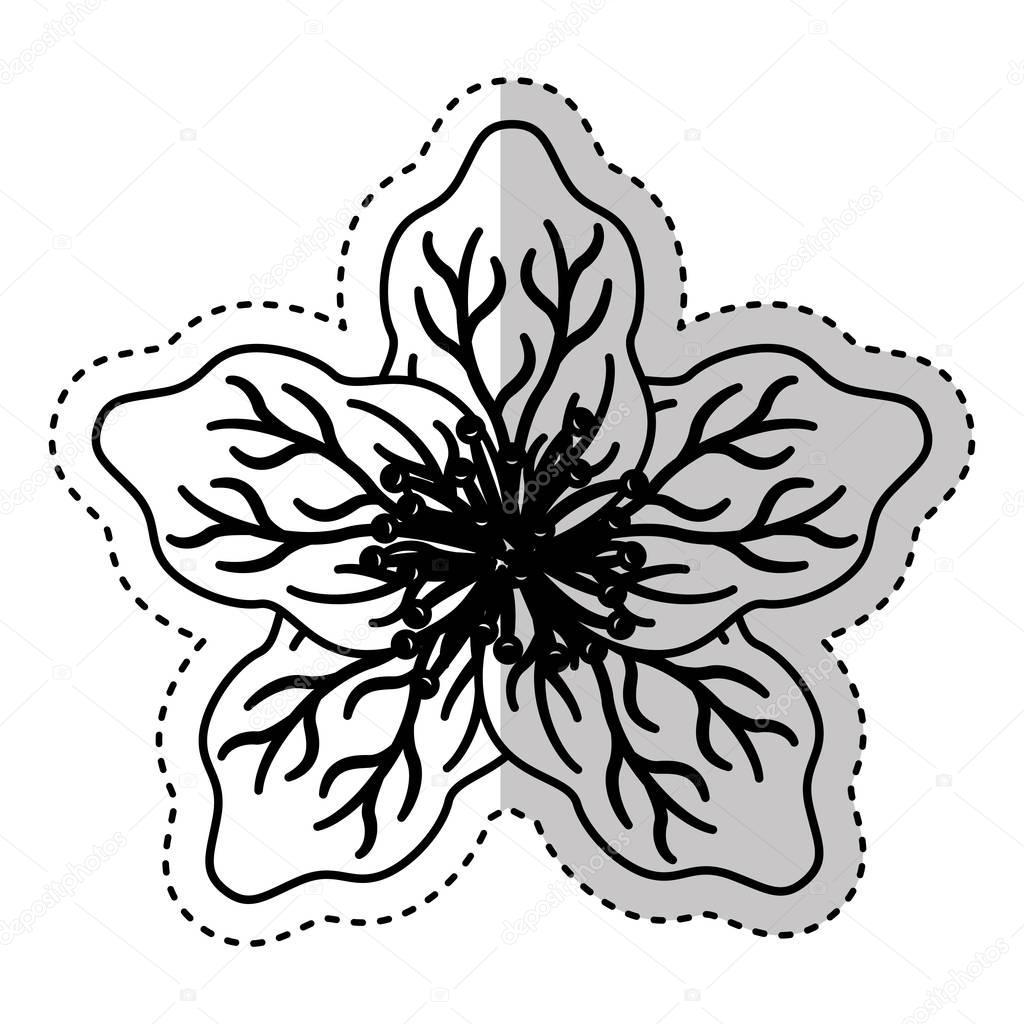 cute japanese flower icon