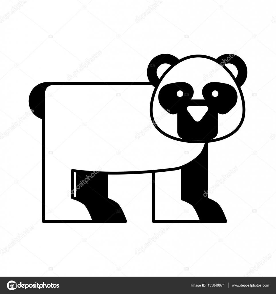 Рисунки из символов панда