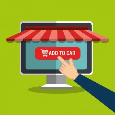 online store shopping icon
