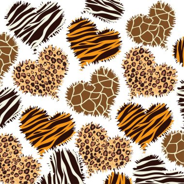 animal print style background