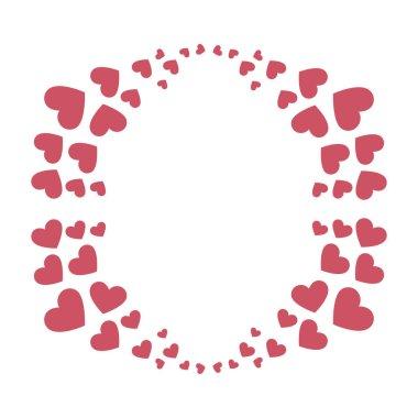 heart love card decoration