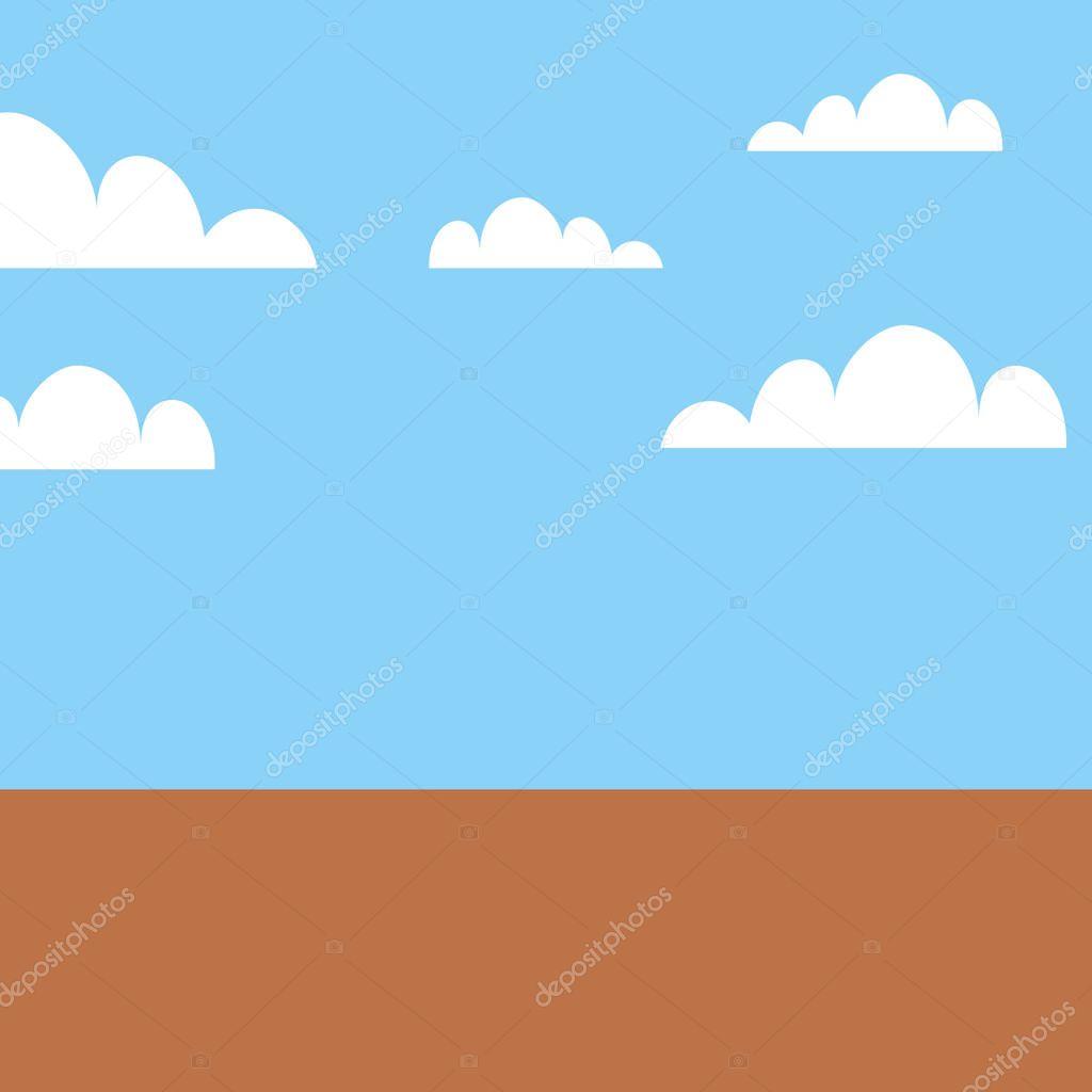 game landscape scene icon