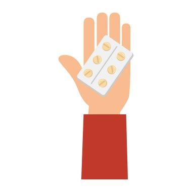 medicine drugs isolated icon