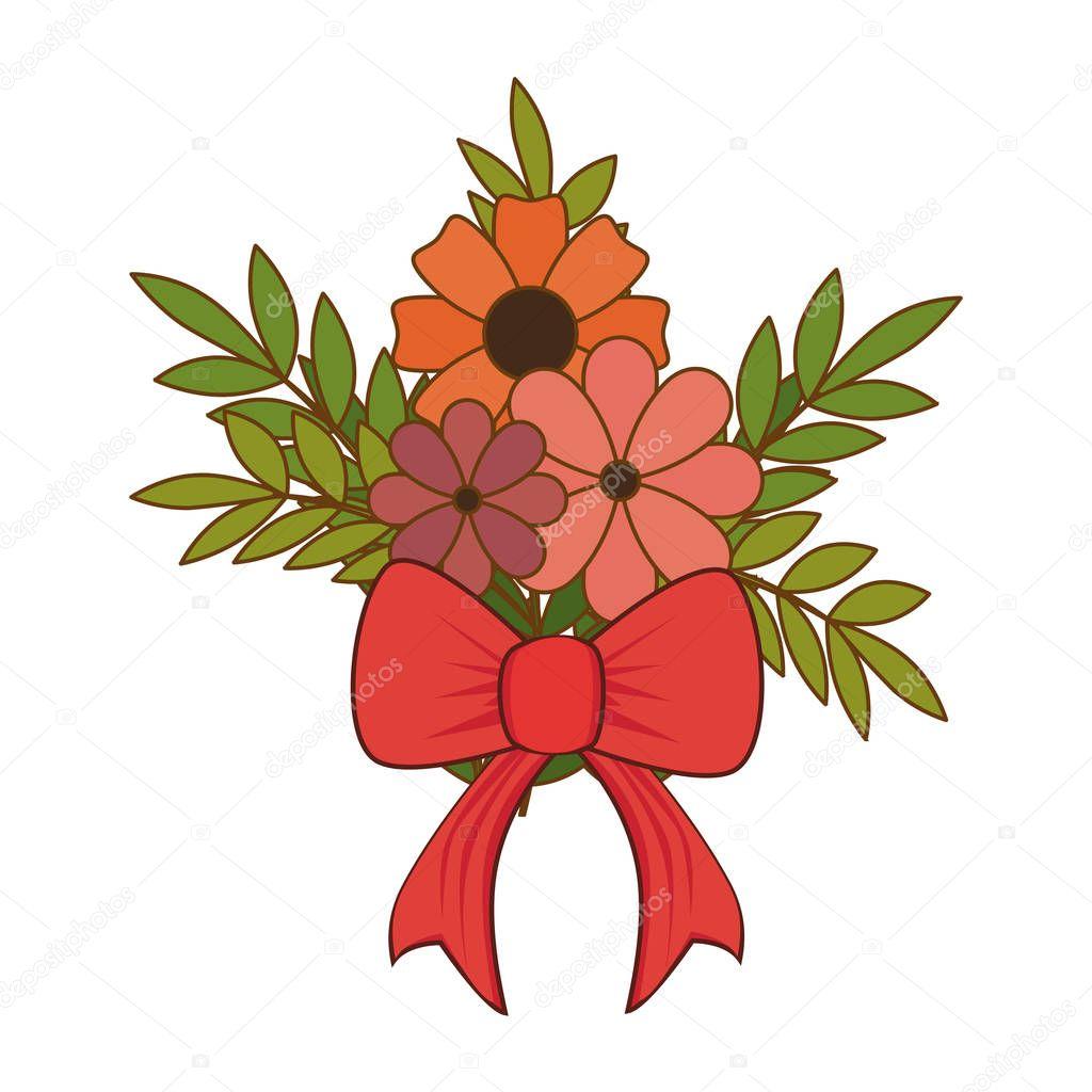 floral love card decoration