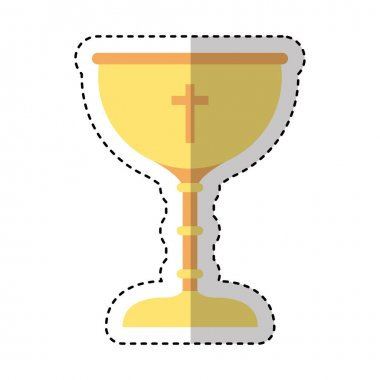chalice first communion icon