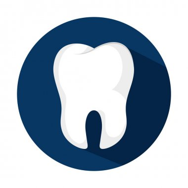 teeth emblem isolated icon