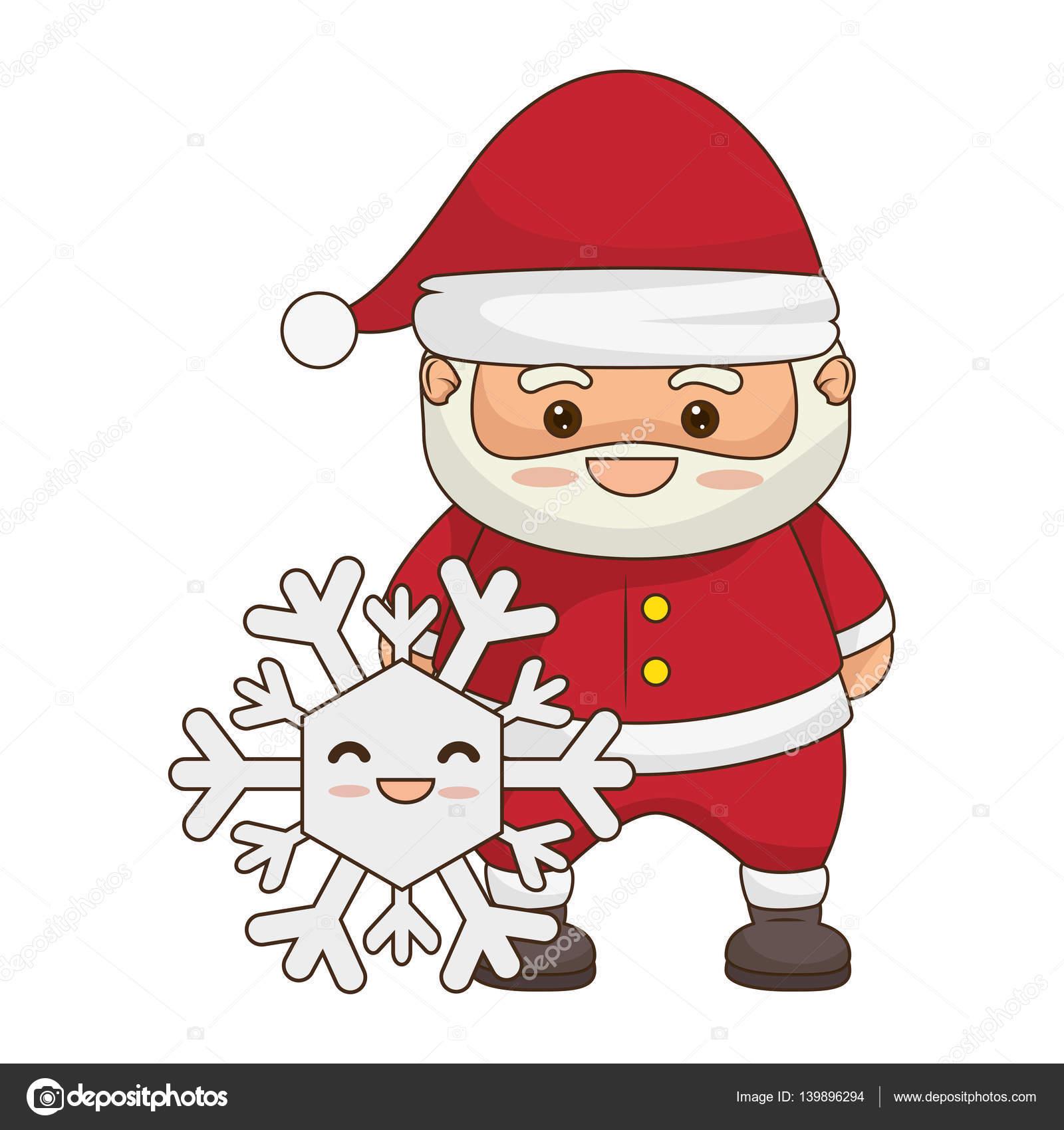 Immagini Natalizie Kawaii.Immagini Babbo Natale Kawaii Disegni Di Natale 2019