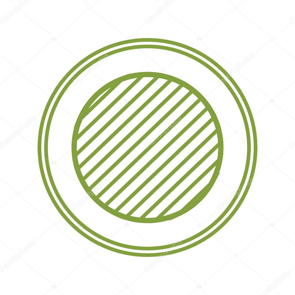 circle seal stamp icon