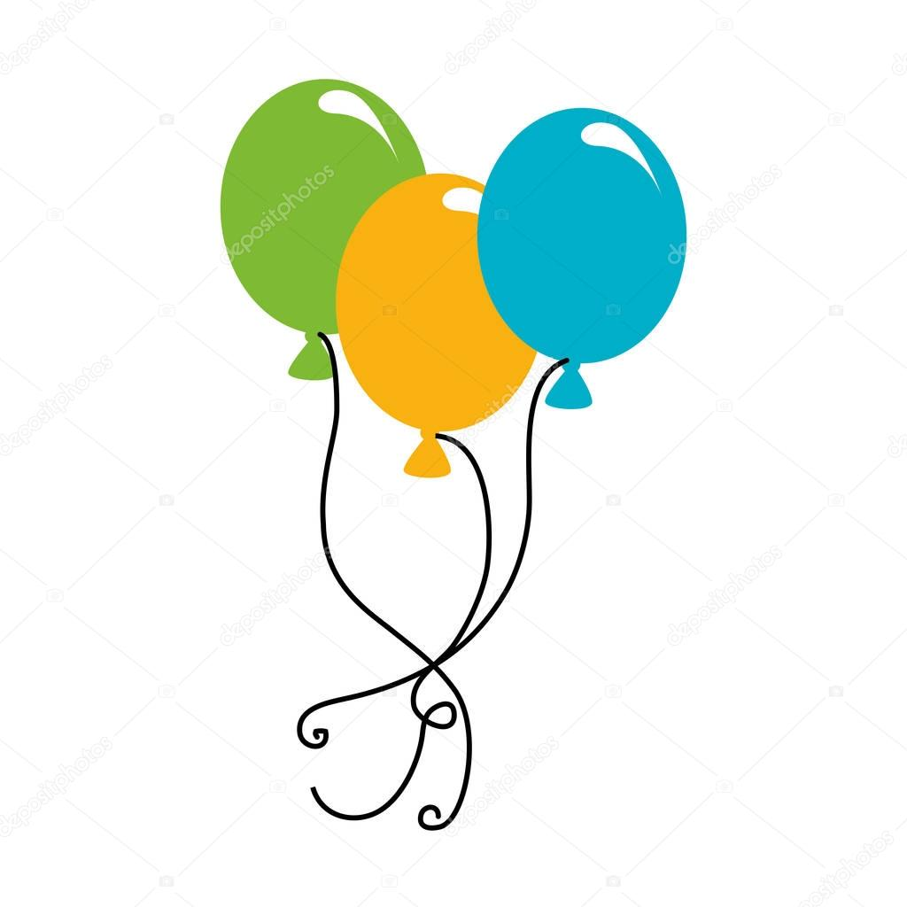balloons air party icon