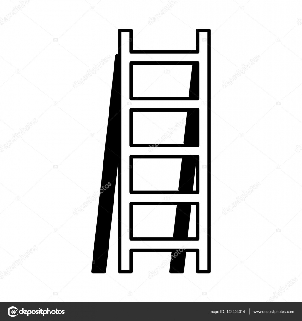 Stair Construction Tool Isolated Icon U2014 Stock Vector #142404014