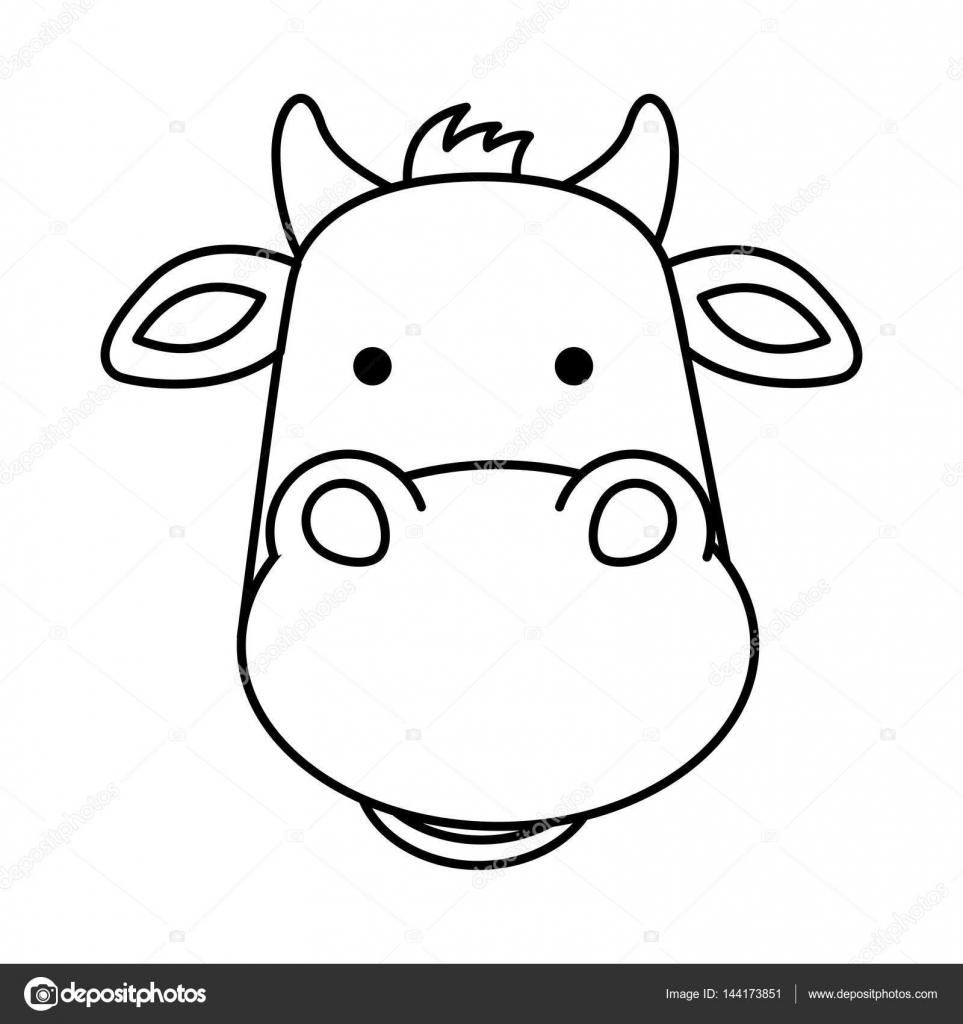 Cute Ox Manger Character Stock Vector C Yupiramos 144173851