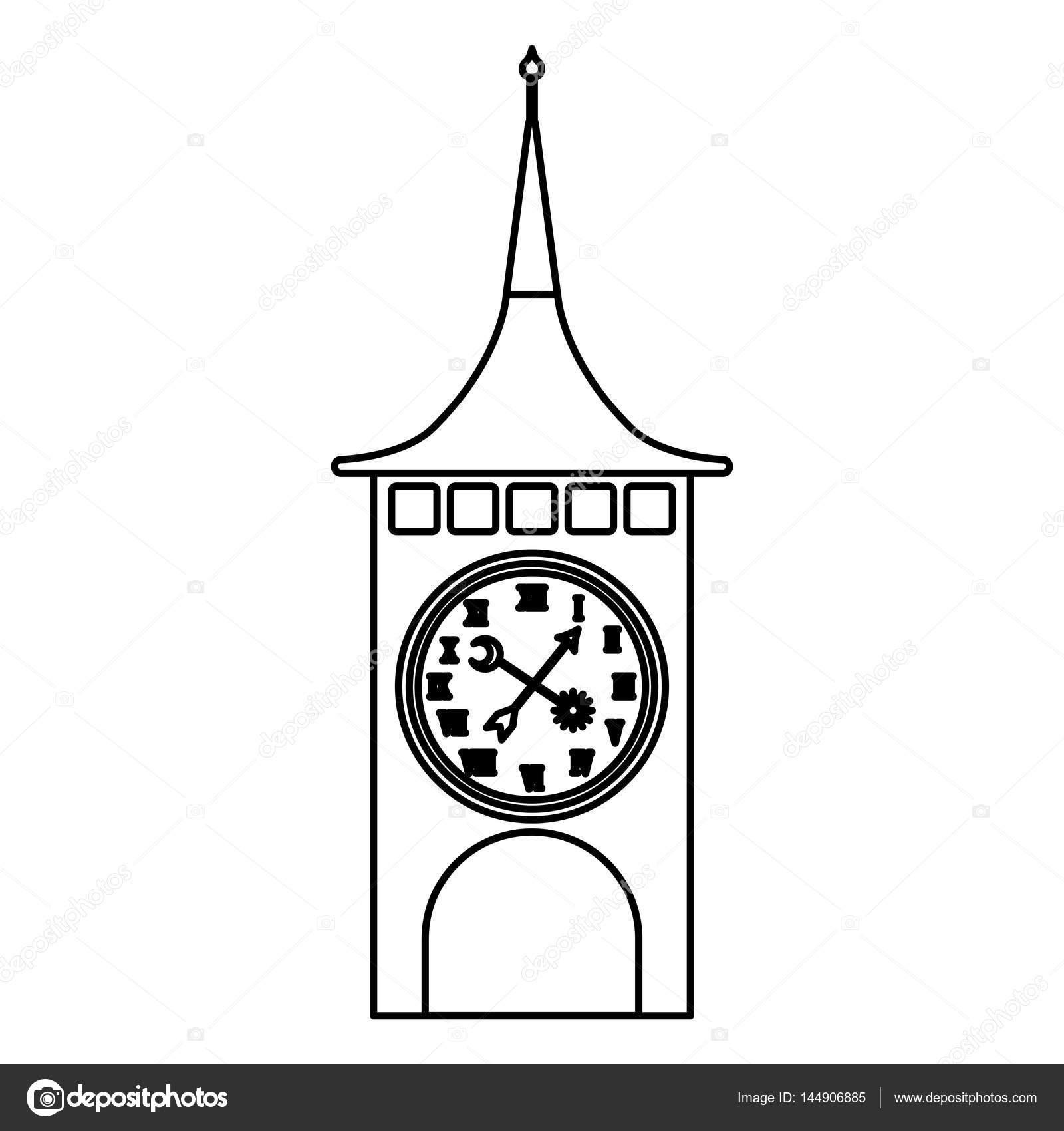 Saat Kulesi Isviçre Stok Vektör Yupiramos 144906885