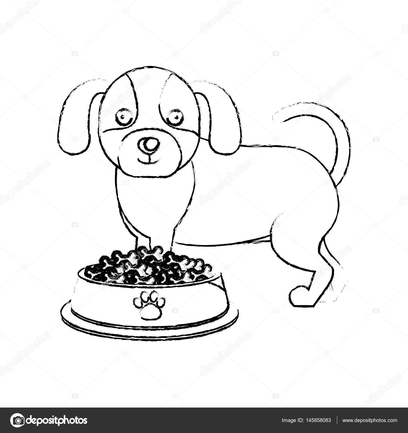 Familia De Osos Tiernos Lindo Icono De Mascotas Doggy Vector De