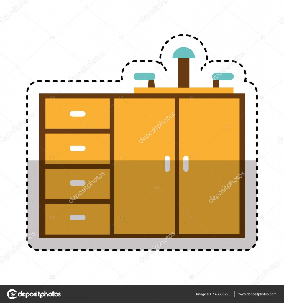 design for kitchen cabinet kitchen cabinet isolated icon stock vector 169 yupiramos 14633