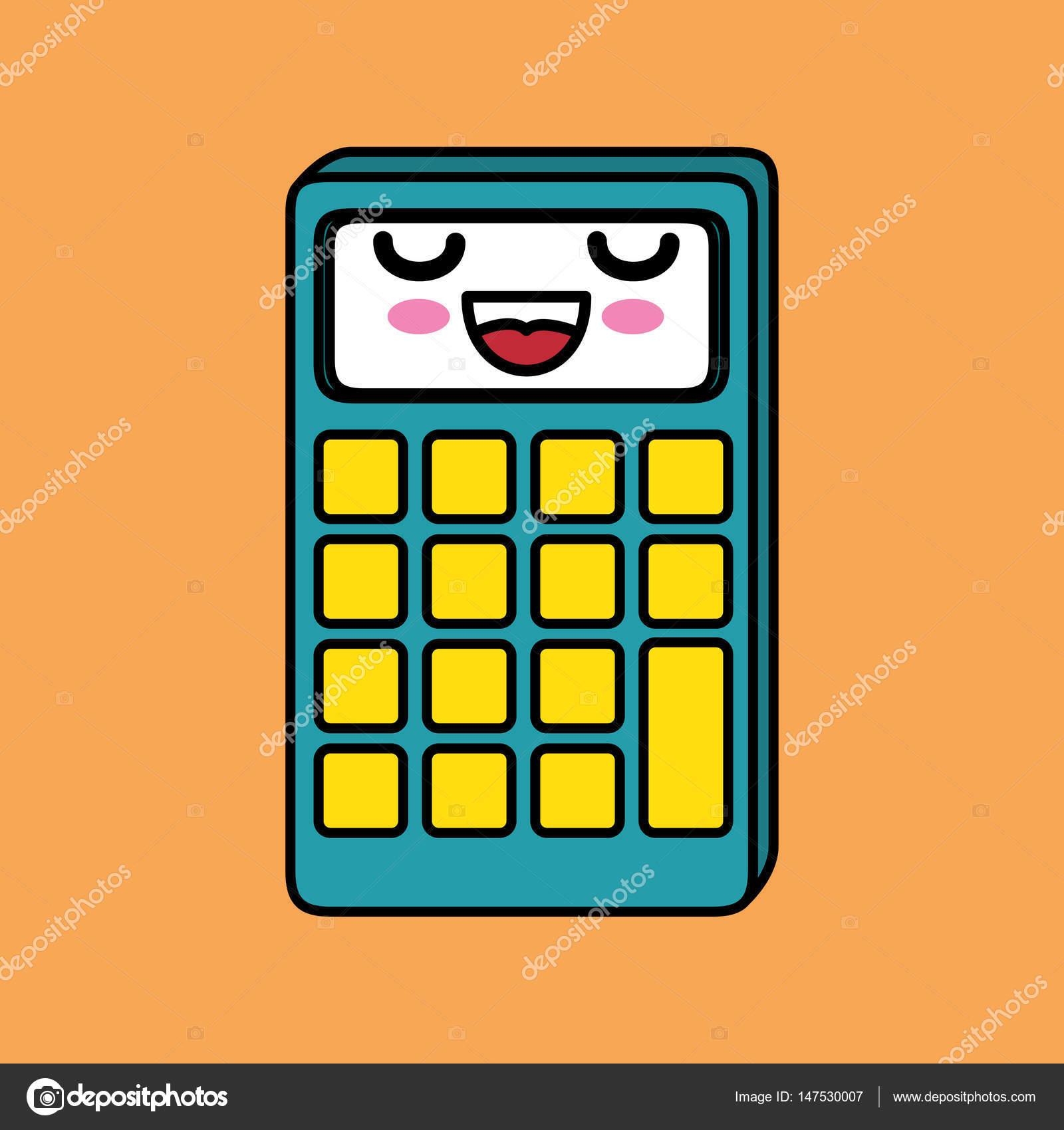 Imágenes Signos Matematicos Kawaii Calculadora Matemáticas