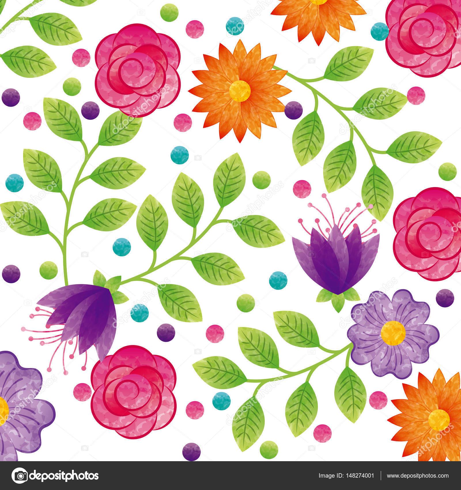 Desenho De Lindas Flores Vetor De Stock Yupiramos 148274001