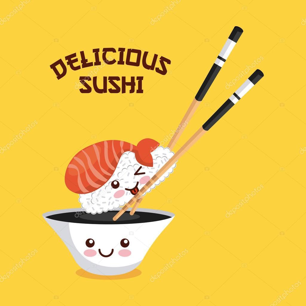 delicious sushi design