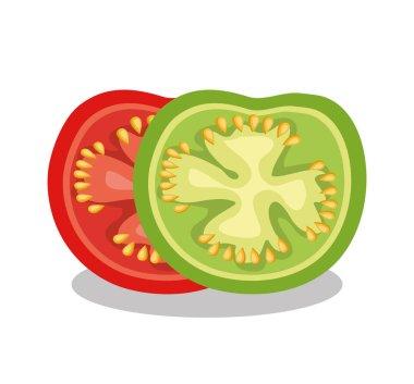 fresh slice tomatoes icon