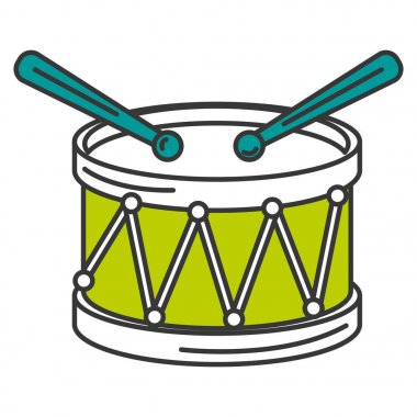 drum musical instrument icon