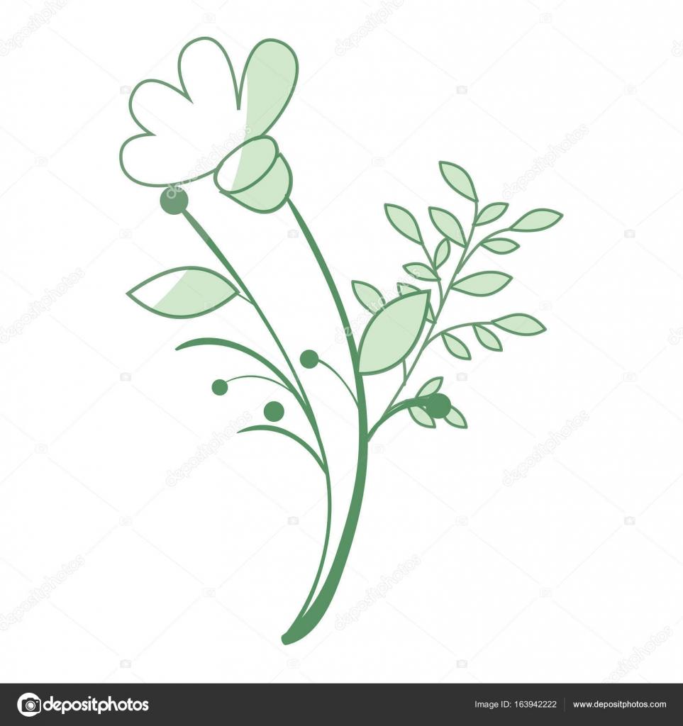 Naturals Flowers Tattoos Stock Vector Yupiramos 163942222