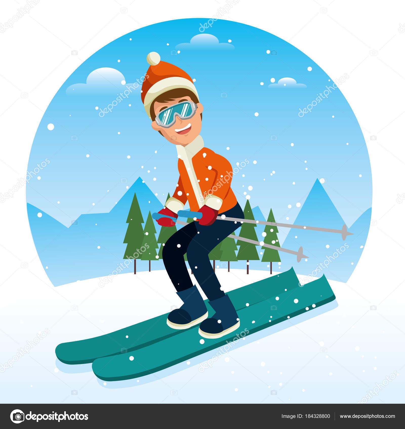 Výsledek obrázku pro obrázky zimních sportů
