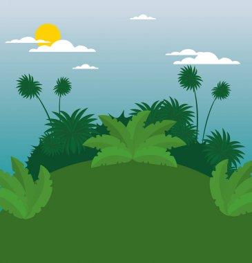 wildlife background design